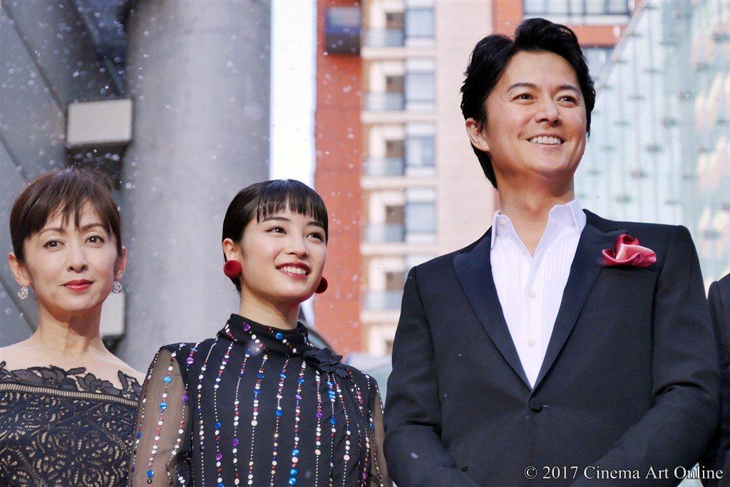 【写真】映画「三度目の殺人」完成披露試写会 レッドカーペット 福山雅治、広瀬すず