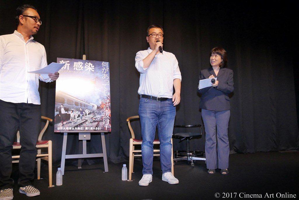 【写真】映画「新感染 ファイナル・エクスプレス」トークイベント ヨン・サンホ監督 挨拶