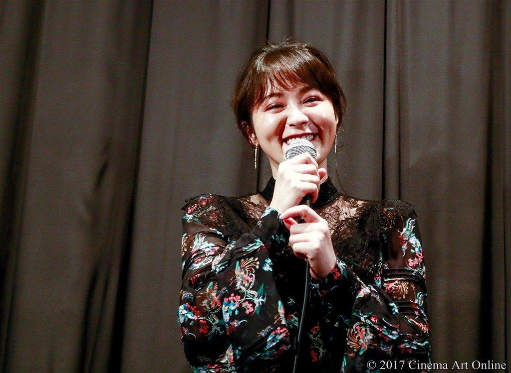 【写真】映画「望郷」完成披露上映会 舞台挨拶 貫地谷しほり