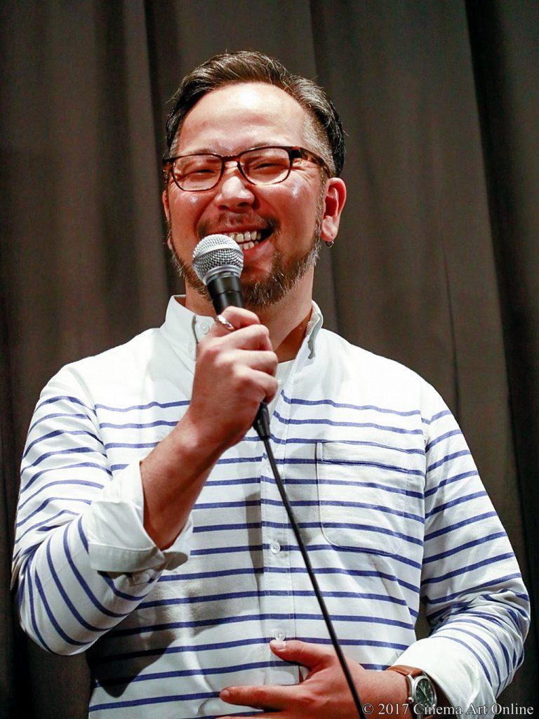 【写真】映画「望郷」完成披露上映会 舞台挨拶 菊地健雄監督
