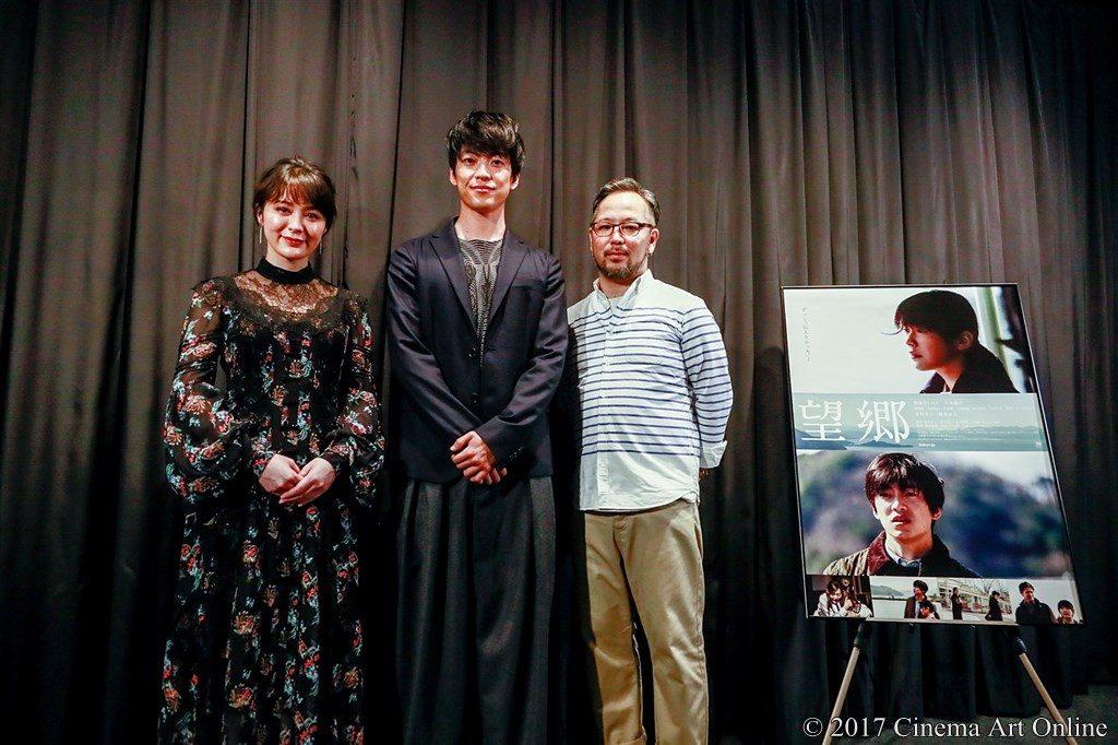 【写真】映画「望郷」完成披露上映会 舞台挨拶