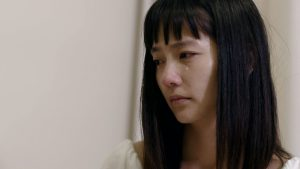 映画『レミングスの夏』中村ゆり 涙