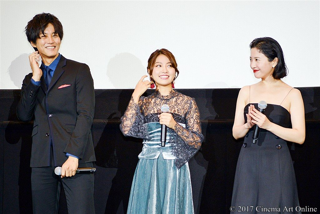 【写真】映画『ユリゴコロ』公開初日舞台挨拶 松坂桃李 Rihwa 吉高由里子