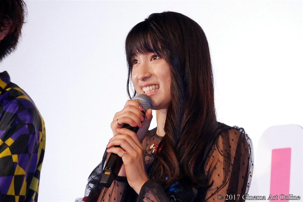 【写真】映画『トリガール!』公開初日舞台挨拶 (土屋太鳳)