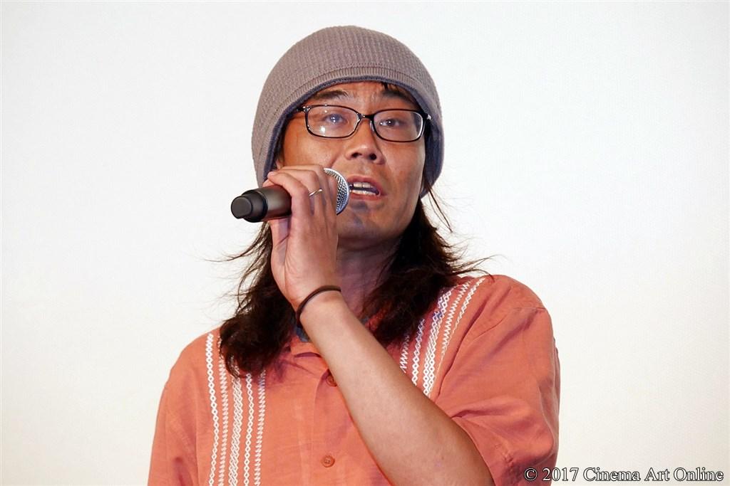 【写真】映画『トリガール!』公開初日舞台挨拶 (英勉監督)