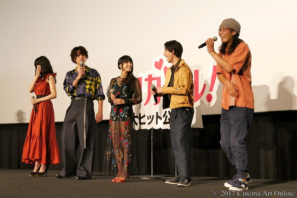 【写真】映画『トリガール!』公開初日舞台挨拶