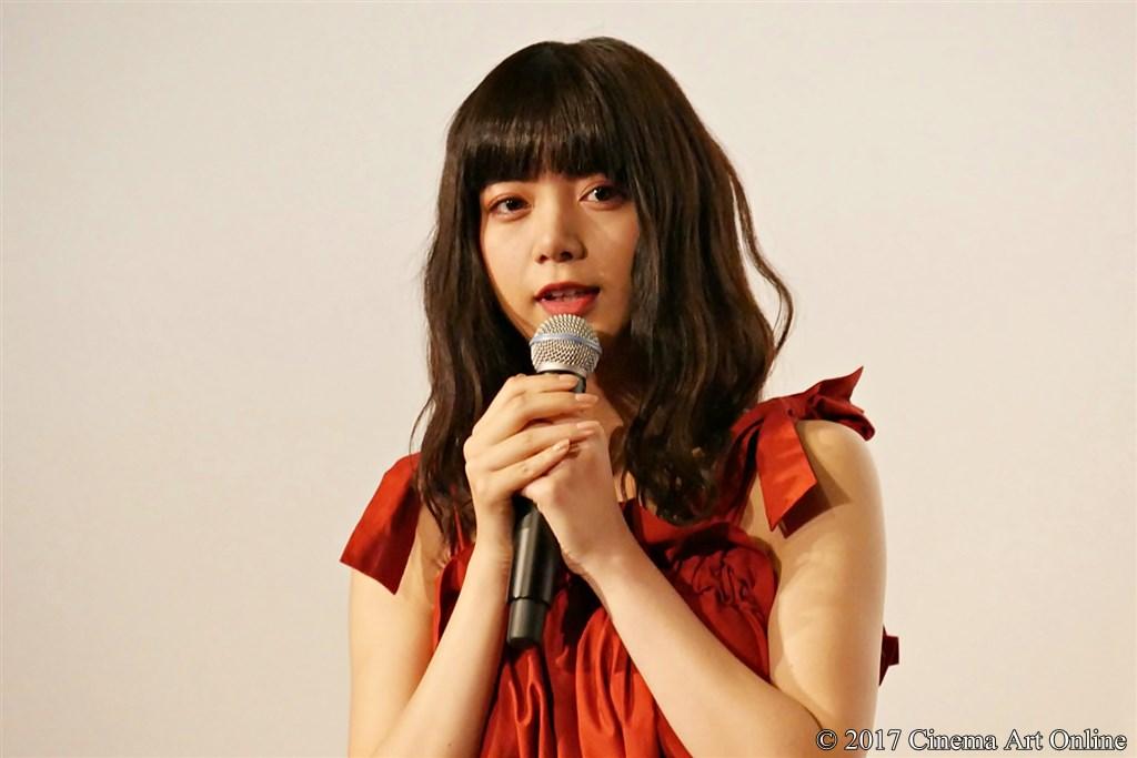 【写真】映画『トリガール!』公開初日舞台挨拶 (池田エライザ)