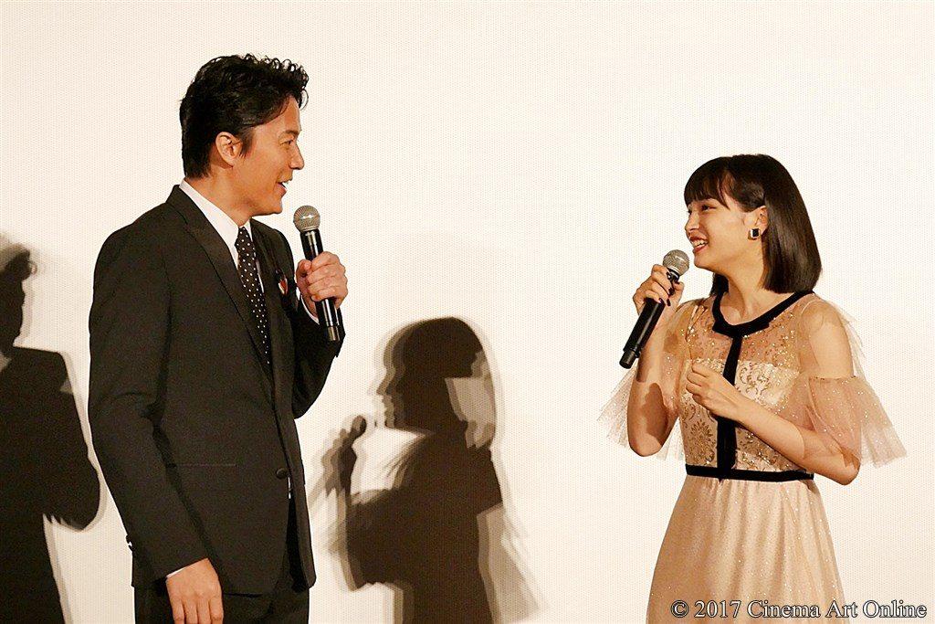 【写真】映画「三度目の殺人」公開初日舞台挨拶 福山雅治、広瀬すず