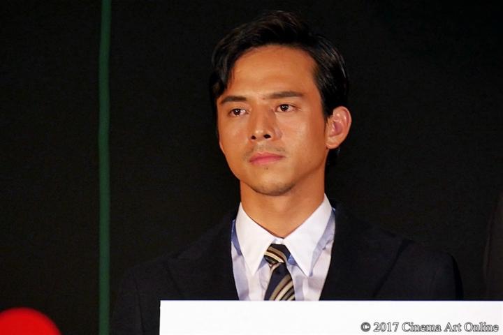 【写真】映画「三度目の殺人」公開初日舞台挨拶 満島真之介