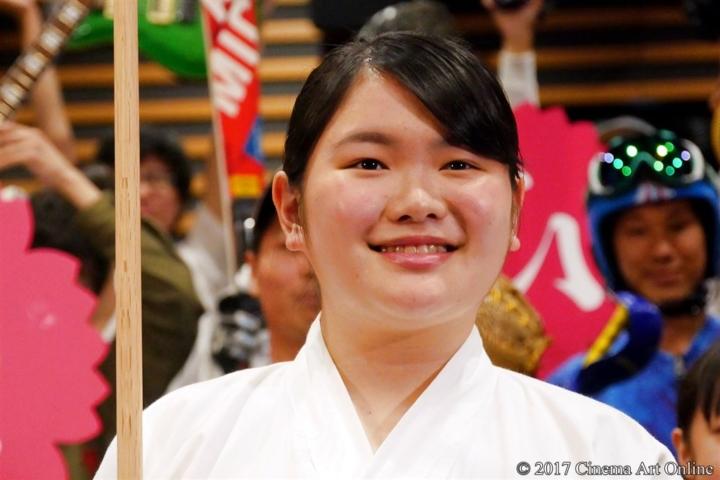 【写真】映画「あさひなぐ」部活生限定試写会イベント 富田望生
