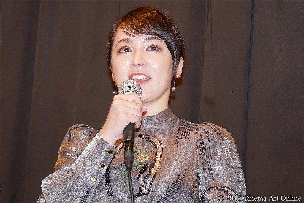 【写真】映画「望郷」公開初日舞台挨拶 貫地谷しほり