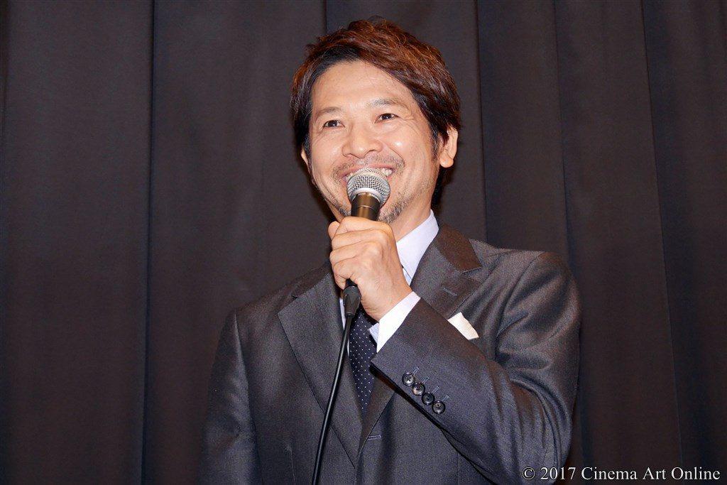 【写真】映画「望郷」公開初日舞台挨拶 緒形直人