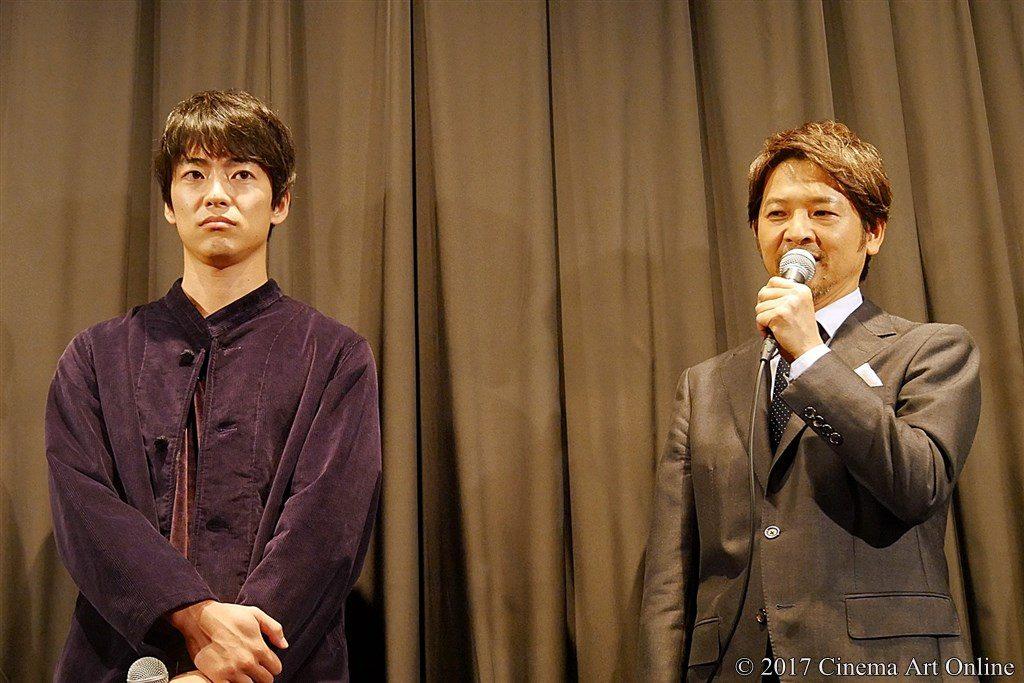 【写真】映画「望郷」公開初日舞台挨拶 大東駿介 & 緒形直人