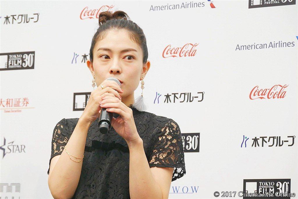 【写真】第30回東京国際映画祭(TIFF)ラインナップ発表記者会見 『最低。』主演 森口彩乃