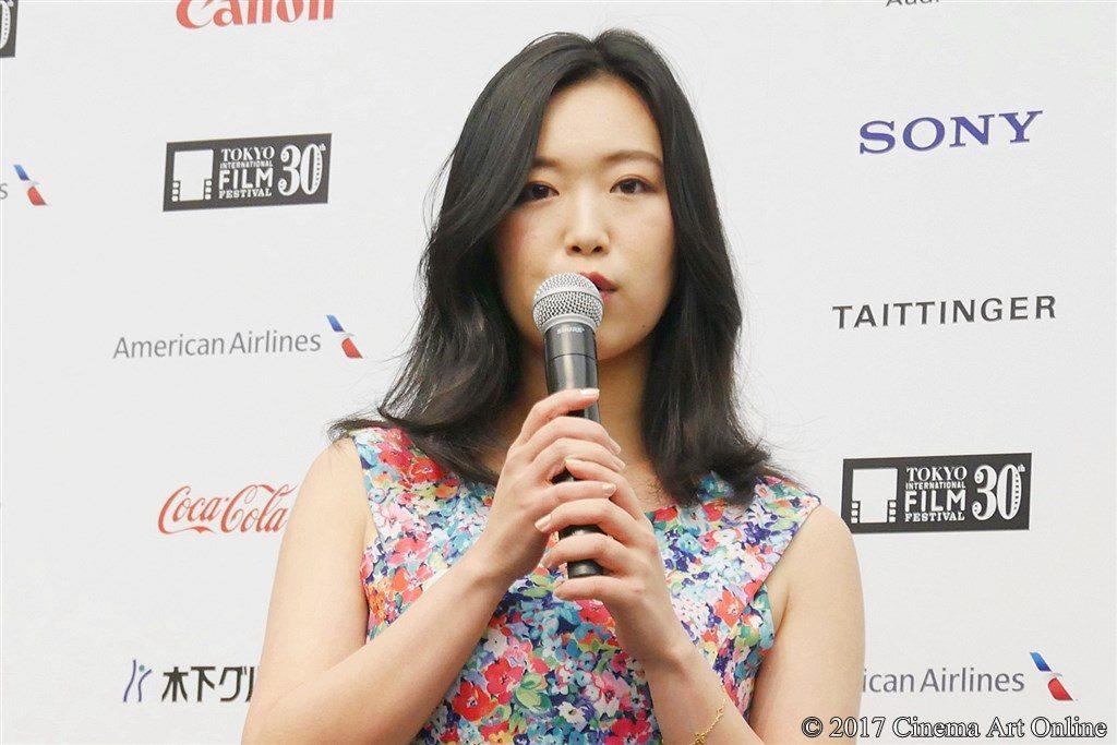 【写真】第30回東京国際映画祭(TIFF)ラインナップ発表記者会見 『最低。』主演 佐々木心音
