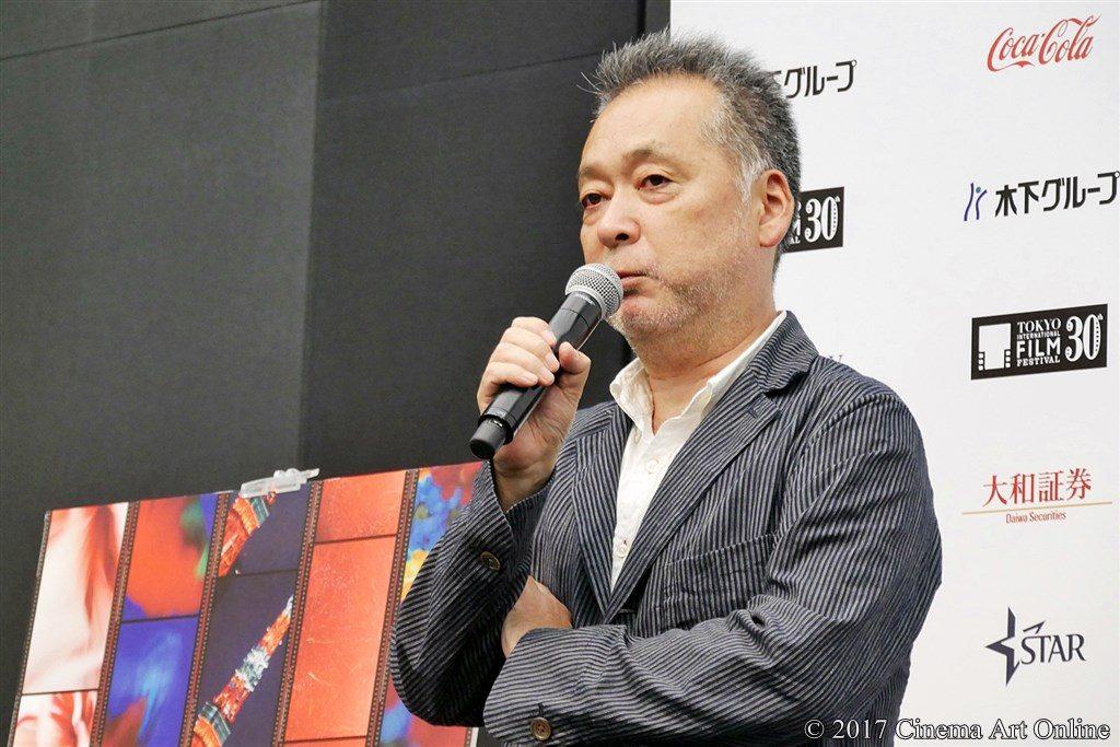 【写真】第30回東京国際映画祭(TIFF)ラインナップ発表記者会見 『最低。』瀬々敬久監督