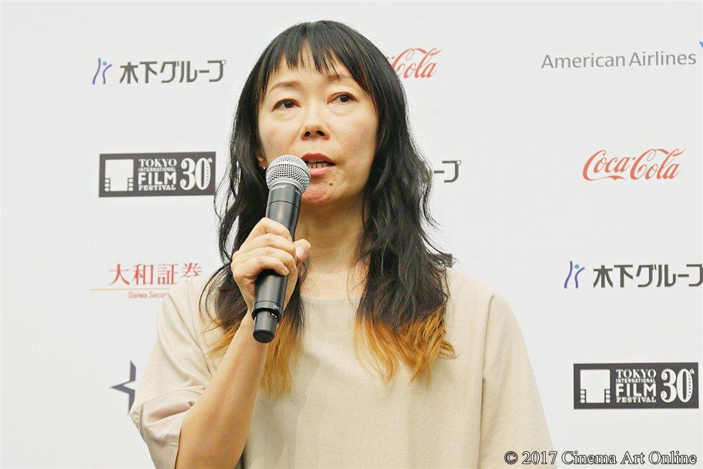 【写真】第30回東京国際映画祭(TIFF)ラインナップ発表記者会見 『勝手にふるえてろ』大九明子監督