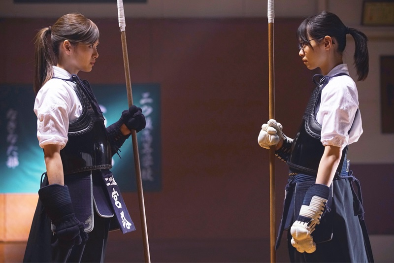 映画『あさひなぐ』宮路真春(白石麻衣) × 東島旭(西野七瀬)
