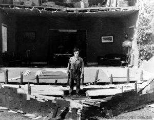 【画像】映画『キートンの蒸気船』メインカット
