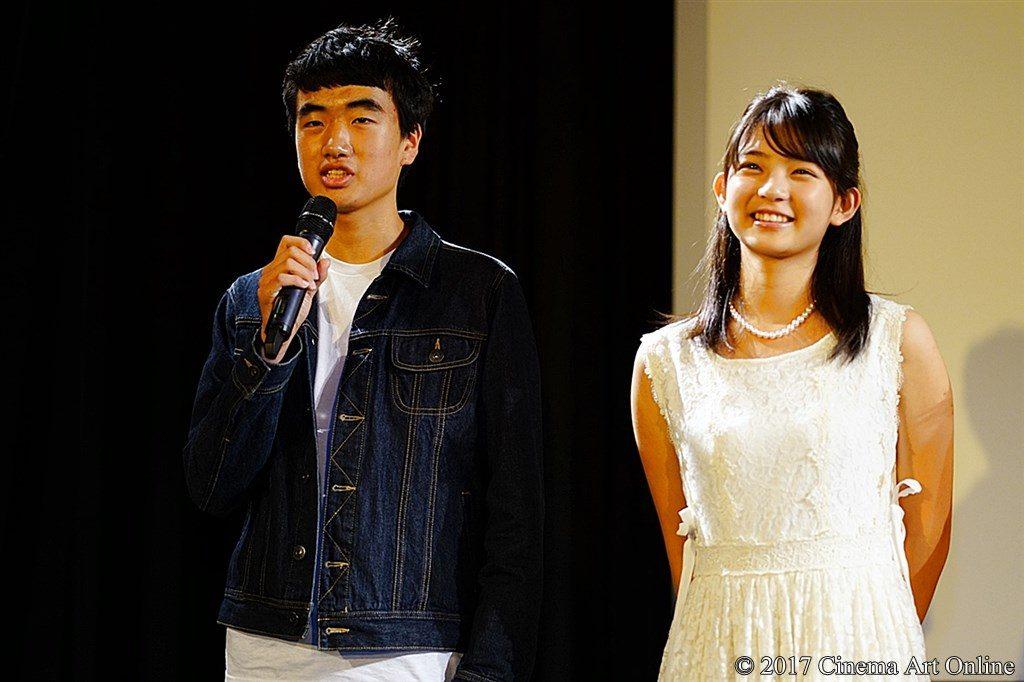 映画『レミングスの夏』公開初日舞台挨拶 遠藤史人、桃果