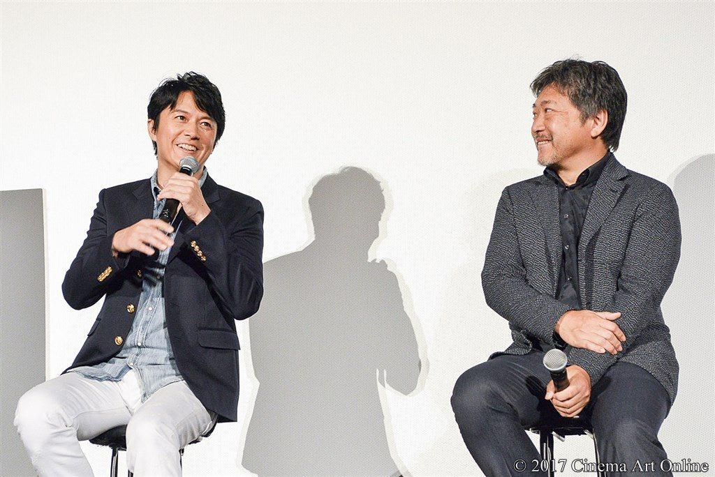 映画『三度目の殺人』公開記念舞台挨拶 福山雅治 × 是枝裕和監督