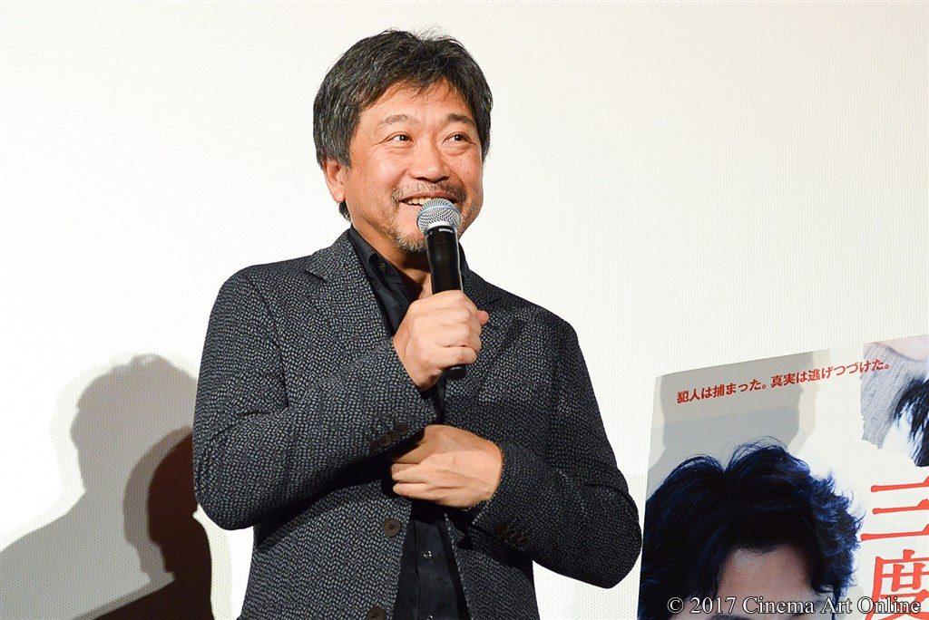 映画『三度目の殺人』公開記念舞台挨拶 是枝裕和監督