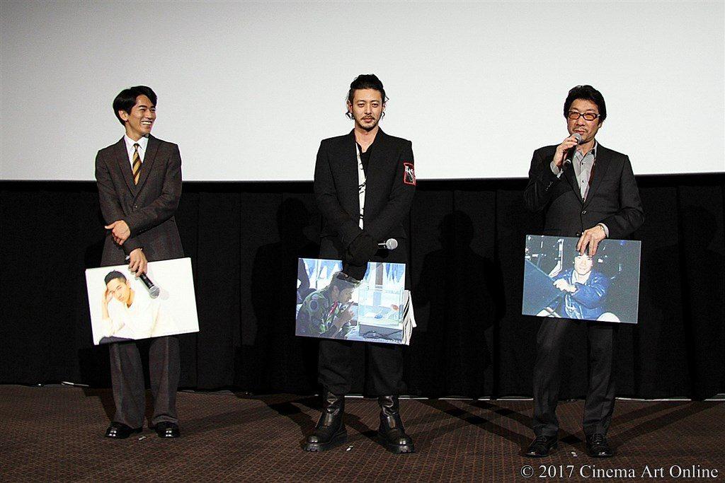 【写真】映画『エルネスト』公開記念舞台挨拶 永山絢斗、オダギリジョー、阪本順治監督