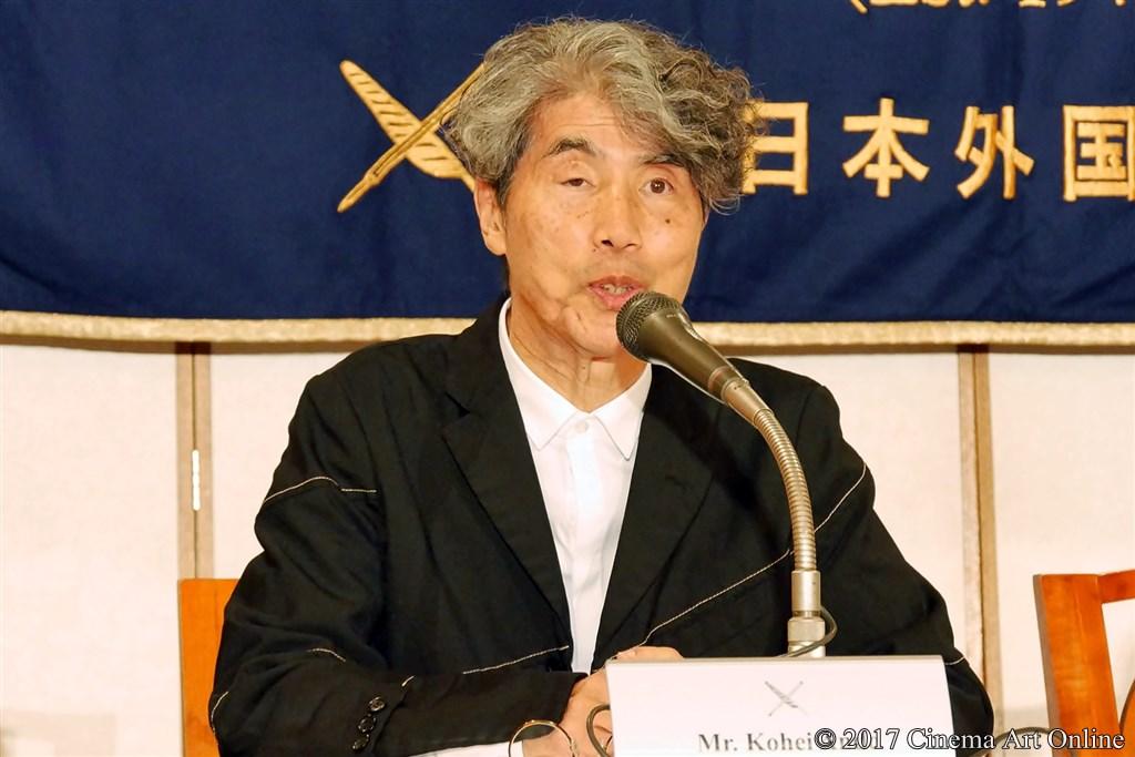 【写真】第30回 東京国際映画祭開幕(TIFF) Japan Now 部門 記者会見 安藤紘平 プログラミング・アドバイザー
