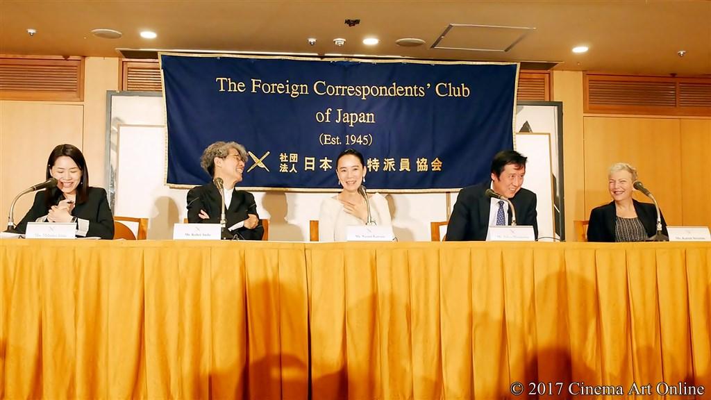 【写真】第30回 東京国際映画祭開幕(TIFF) Japan Now 部門《河瀨直美監督》記者会見