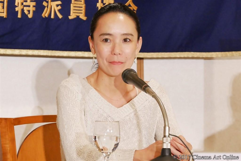 【写真】第30回 東京国際映画祭開幕(TIFF) Japan Now 部門 記者会見 河瀨直美監督