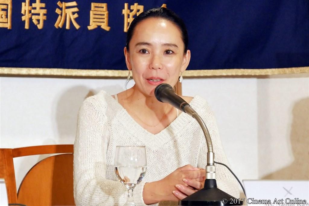 【写真】河瀨直美監督 記者会見
