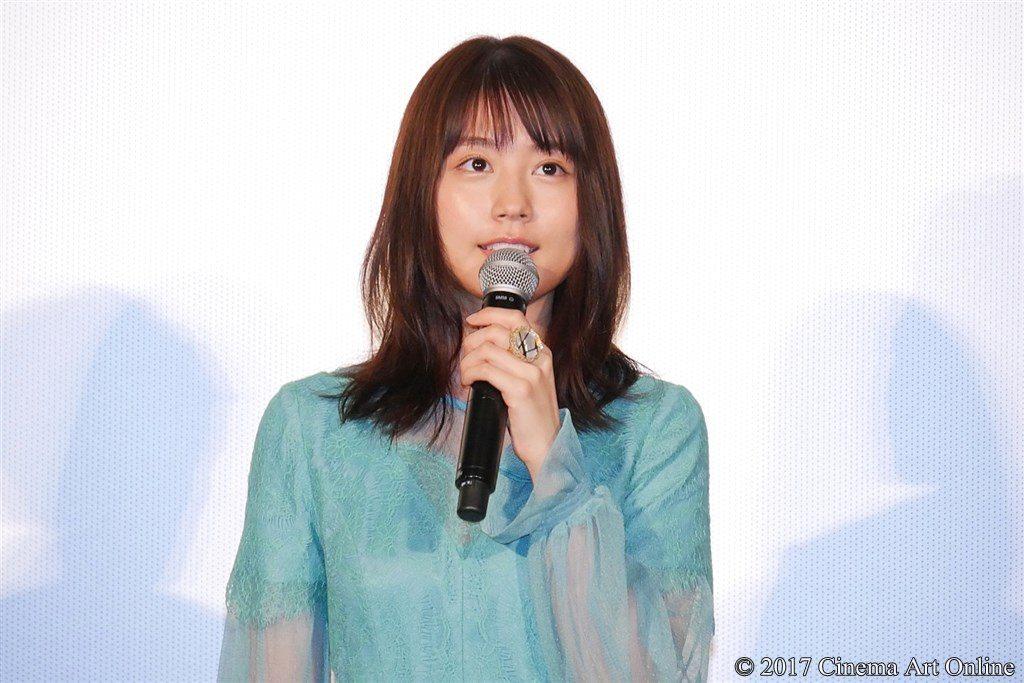 【写真】映画『ナラタージュ』公開初日舞台挨拶 有村架純