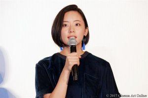 【写真】映画『ナラタージュ』公開初日舞台挨拶 大西礼芳