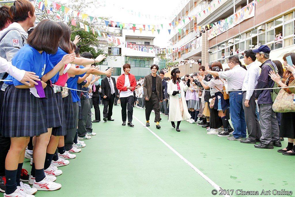 映画『恋と嘘』文化祭サプライズイベント