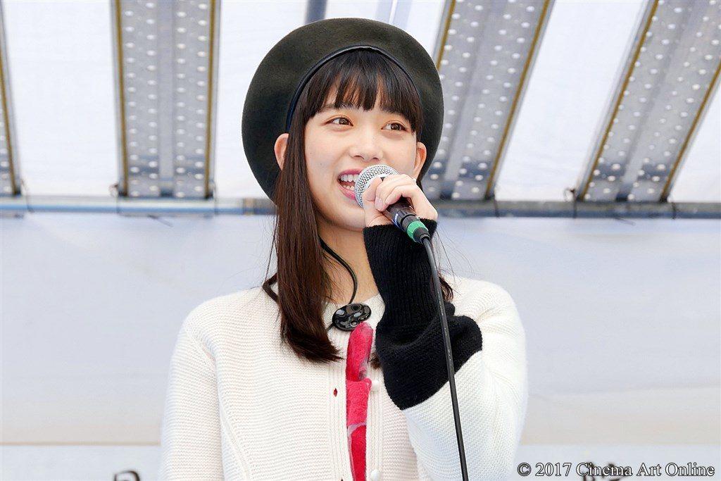【写真】映画『恋と嘘』目黒学院高等学校 文化祭 特設ステージ  森川葵