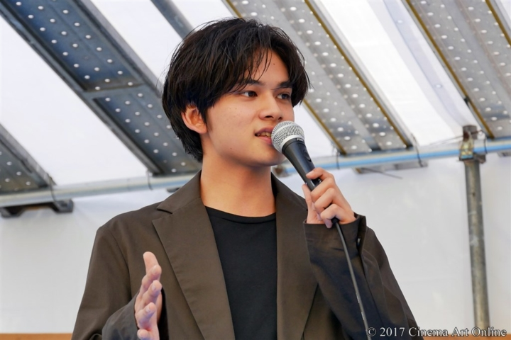 【写真】映画『恋と嘘』目黒学院高等学校 文化祭 特設ステージ 北村匠海