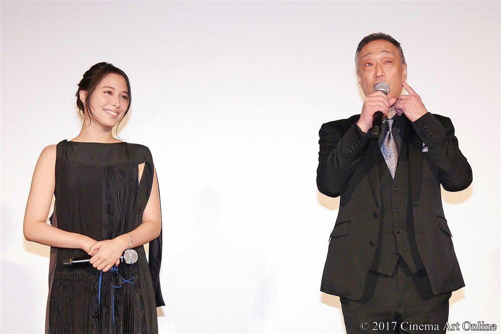 【写真】 第30回 東京国際映画祭(TIFF) 特別招待作品『巫女っちゃけん。』舞台挨拶 広瀬アリス & グ・スーヨン監督