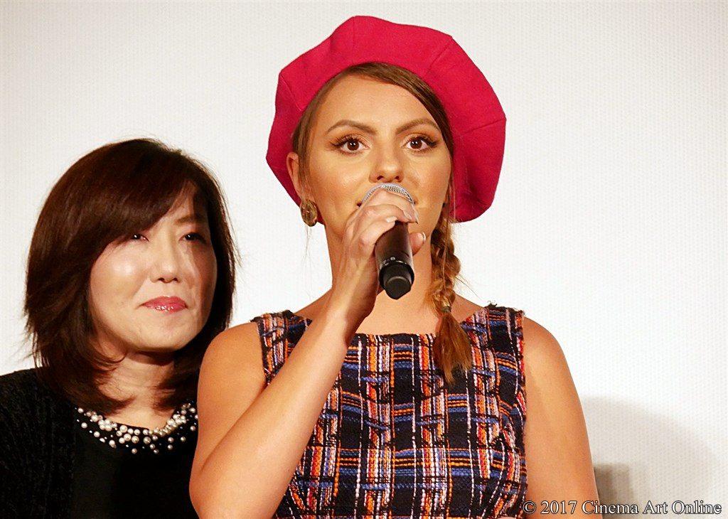 【写真】 第30回 東京国際映画祭(TIFF) 特別招待作品『巫女っちゃけん。』舞台挨拶 アレクサンドラ・スタン