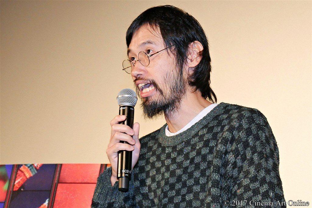 【写真】第30回 東京国際映画祭(TIFF) 特別招待作品『パンとバスと2度目のハツコイ』舞台挨拶 今泉力哉監督