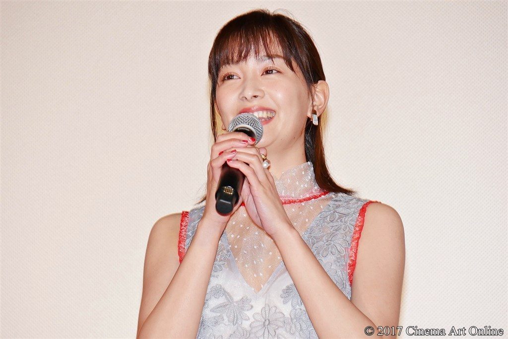 【写真】映画『勝手にふるえてろ』初日舞台挨拶 石橋杏奈