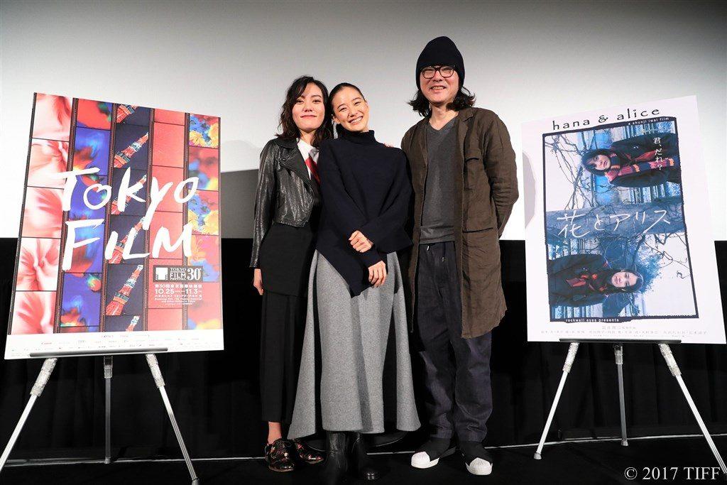 【写真】映画『花とアリス』Q&A 鈴木杏、蒼井優、岩井俊二監督