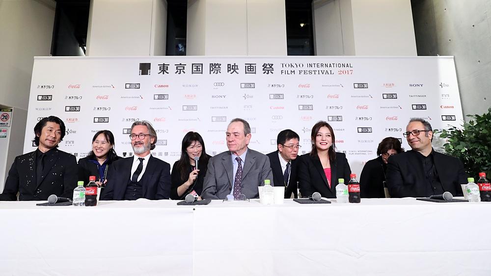 【写真】第30回東京国際映画祭(TIFF) コンペティション国際審査委員記者会見