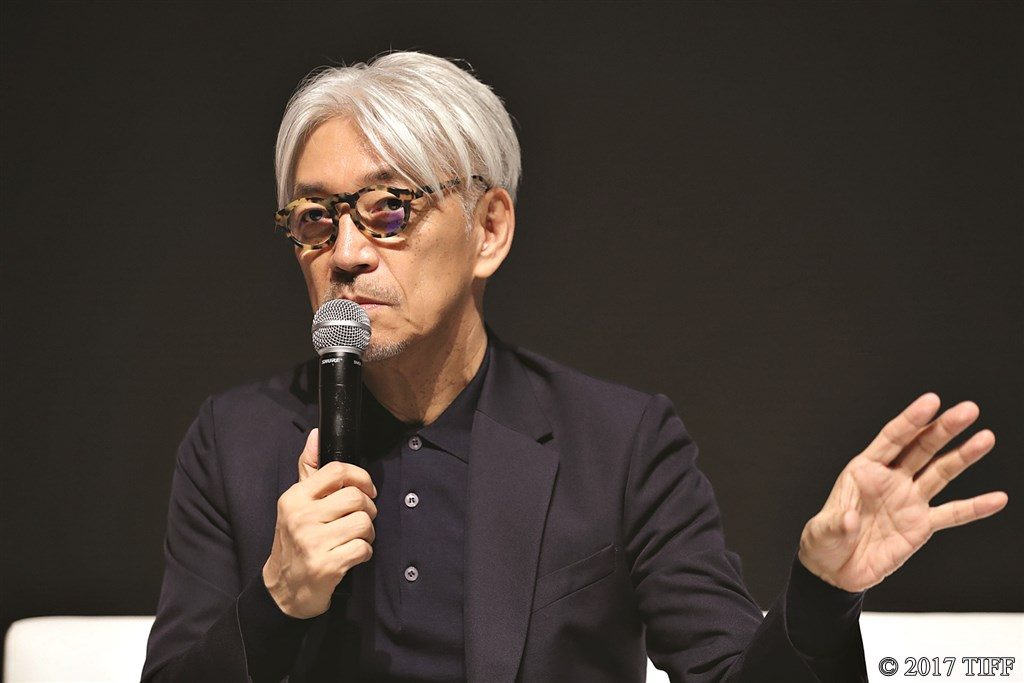 【写真】第30回東京国際映画祭 TIFFマスタークラス 第4回 SAMURAI(サムライ)賞授賞記念 「坂本龍一スペシャルトークイベント~映像と音の関係~」坂本龍一