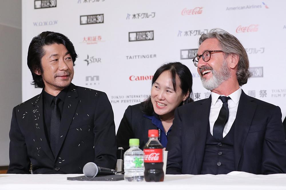 【写真】第30回東京国際映画祭(TIFF) コンペティション審査委員記者会見
