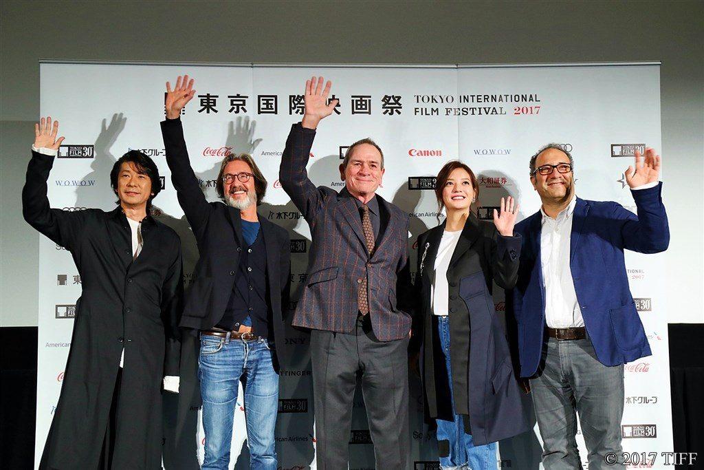 第30回東京国際映画祭(TIFF) コンペティション部門 審査委員記者会見