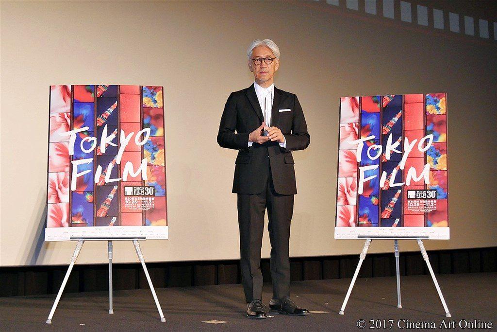 【写真】第30回 東京国際映画祭(TIFF) 第4回 SAMURAI賞授賞式 坂本龍一 フォトセッション