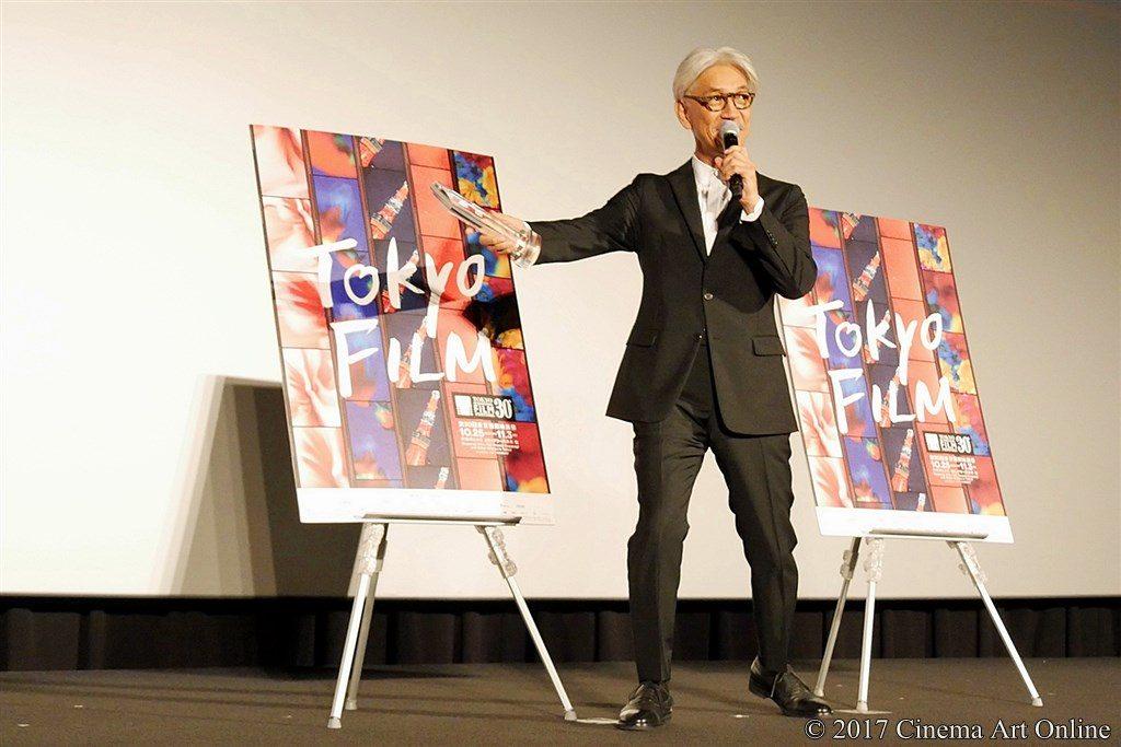 【写真】第30回 東京国際映画祭(TIFF) 第4回 SAMURAI賞授賞式 坂本龍一