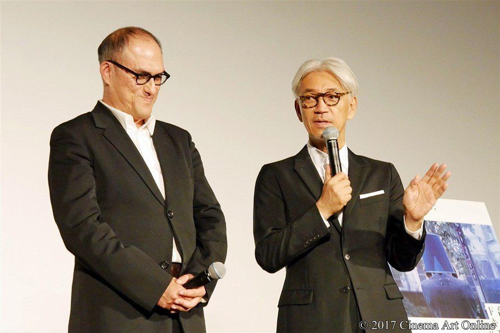 【写真】第30回 東京国際映画祭(TIFF) 『Ryuichi Sakamoto: CODA』舞台挨拶 スティーブン・ノムラ・シブル監督 & 坂本龍一