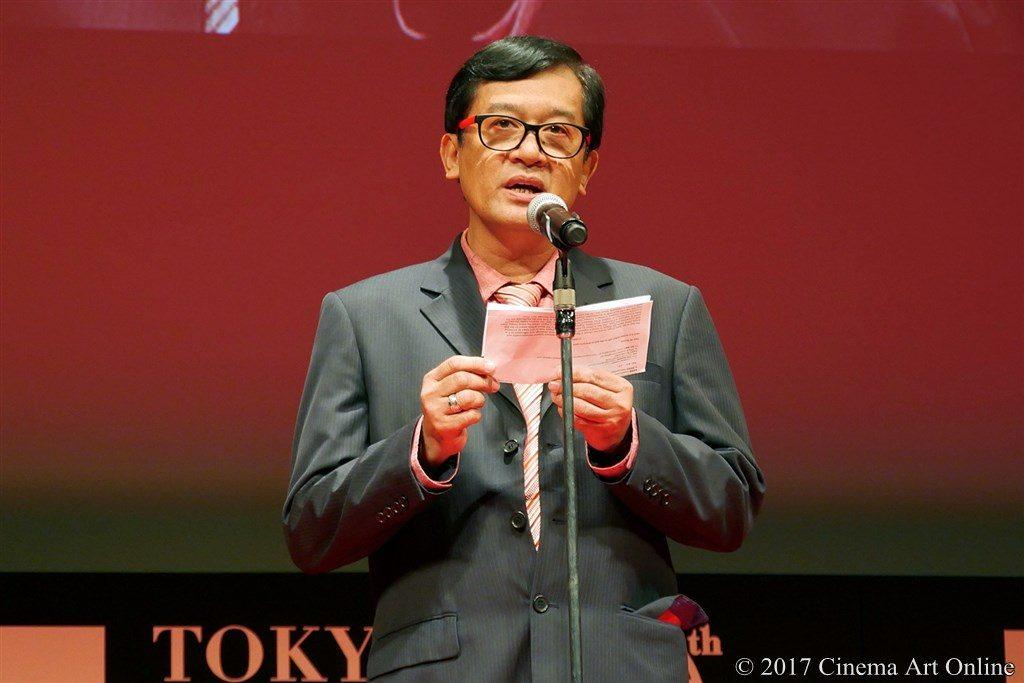【写真】国際交流基金アジアセンター特別賞審査委員 ニック・ディオカンポ氏