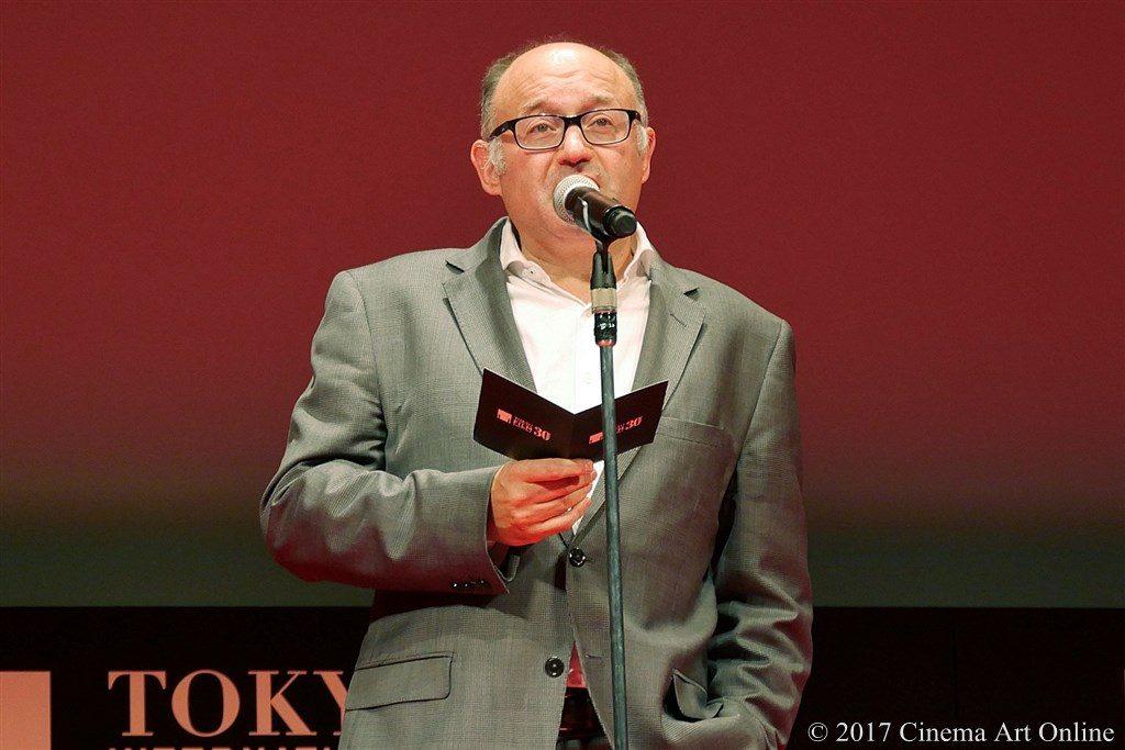【写真】アジアの未来部門 作品賞審査委員 ホセ=ルイス・レボルディノス氏
